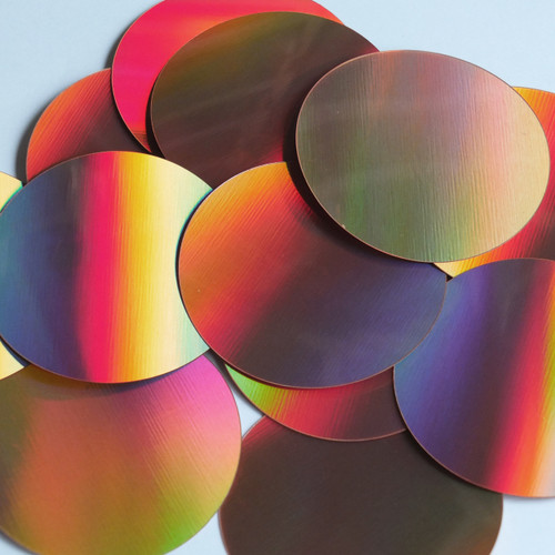 Round Sequin Paillettes 60mm No Hole Copper Lazersheen Reflective Metallic