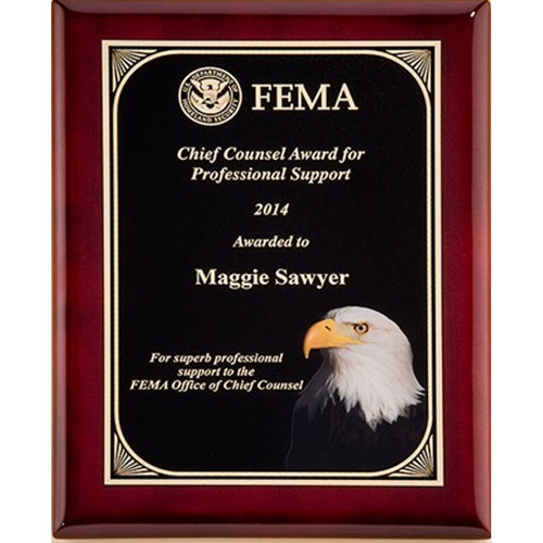 High Definition Eagle Plaque