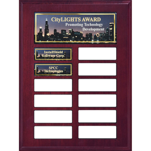 Full Color Perpetual Plaque