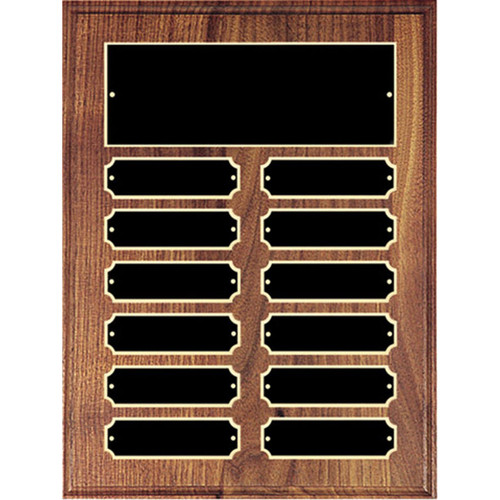 Black Plate Perpetual Plaque