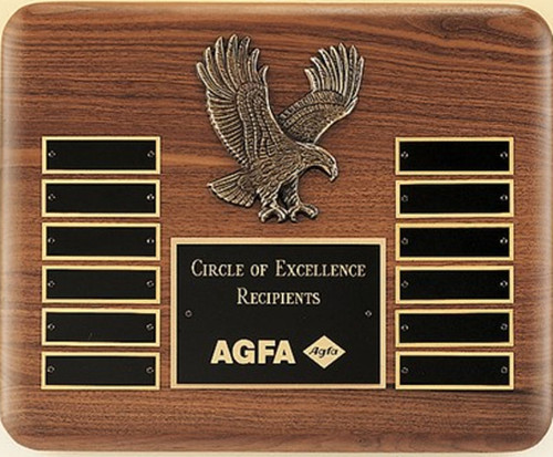 Cast Eagle Perpetual Plaque