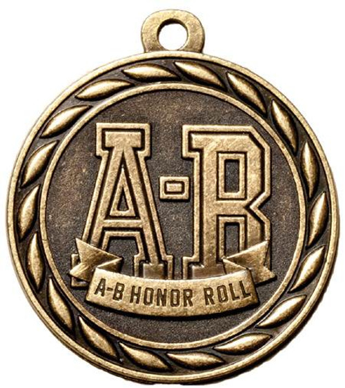 A-B Honor Roll Medal