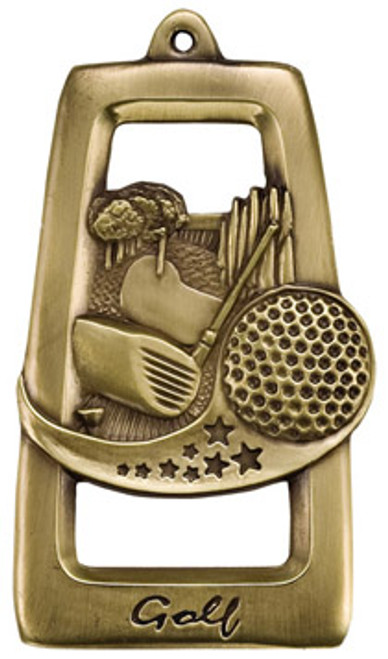 Tall Star Golf Medal