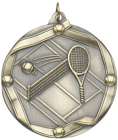 Ribbon Tennis Medal