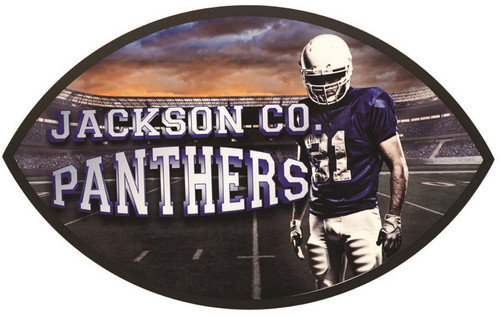 Full Color Football Plaque