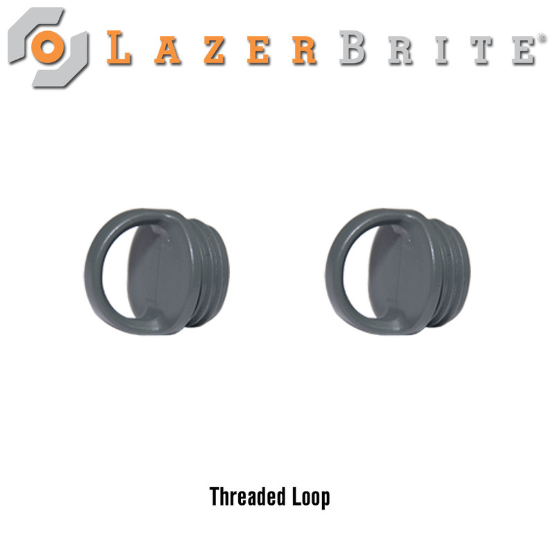 LazerBrite Threaded Attachment Loop (Package of 2)