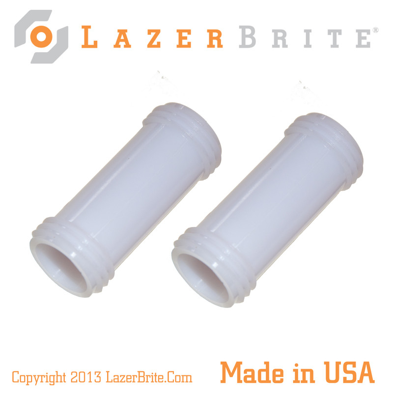 LazerBrite Short Translucent Tube (Package of 2)