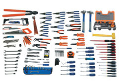 Bahco Williams 165 Pcs Electrical Maintenance Tool Set SAE Tools Only WSC-167