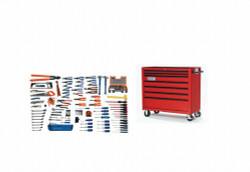 Bahco Williams 167 Pcs Electrical Maintenance Tool Set SAE Tools with Storage WSC-167TB