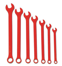 Williams Supercombo Comb Wrench Set, High Visibility Red 7 Piece WS-1170RSC