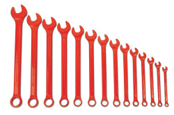 Williams Supercombo Comb Wrench Set, High Visibility Red 14 Piece WS-1172RSC