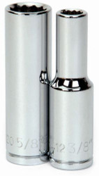"3/8"" Williams 1/2"" Dr Deep Socket 12 Pt - 32412"