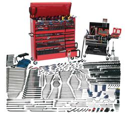 Bahco Williams 1390 Pcs Mammoth SAE & Metric Tool Set with Storage WSC-1350TB
