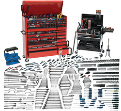 Bahco Williams 557 Pcs Mega Tool Set Metric Tools Only WSC-935MM