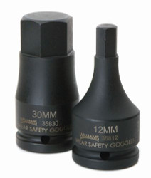 "10MM Williams 3/4"" Drive Impact Hex Bit Driver"