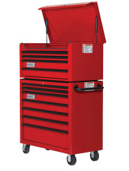 """40"""" Williams Top Chest - 4 Drawer - Red W40TC4"""