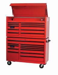 "55"" Williams Roller Cabinet - 11 Drawer - Black W55RC11B"