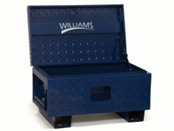 "32"" W x 19"" D x 17.5"" H Williams Job Site Boxes - Blue Only 50950"