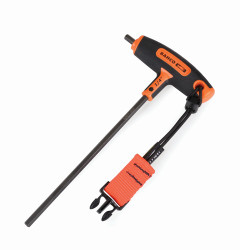 """1/4"""" Bahco Tools At Height T Handle Hex - 0.28 Lbs - 900T-250-TH"""