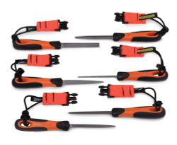 """4"""" Bahco Tools - Height Set Files with Handles - 1-476-04-3-2-TH"""