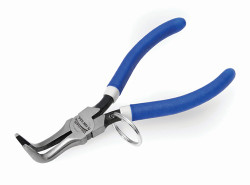 """6 1/4"""" Williams Tools At Height Curved Chain - Nose Plier PL-126C-TH"""