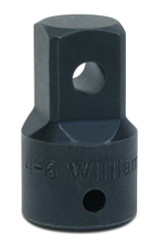 "1/2"" F X 3/4"" M Williams 1/2"" Dr Impact Adaptor - 4-6"