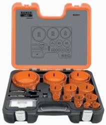 Bahco Professional Holesaw Set 21 Pieces - 862021
