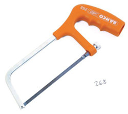 """6 """" Bahco Mini Hacksaw Frame with Solid Steel Profile - 268"""