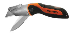 Bahco Knife with Twin Blade - Utility and Sports Blade - KBTU-01