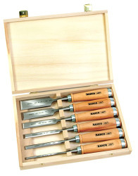 Bahco Wooden Chisel Box 425-Set 6 Piece - 425-083