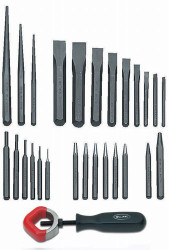 Williams Punch and Chisel Set 27 Piece - PC-27