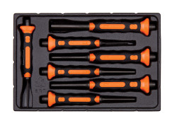Bahco Soft Grip Pin Punch Set 7 Piece - 3734BMS/7