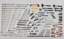 Bahco Tools at Height Intermediate Maintenance Set Complete 225 Piece - WSC-225THTB