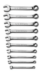 Williams Miniature Combination Wrench Set 10 Pcs - WS-MID10