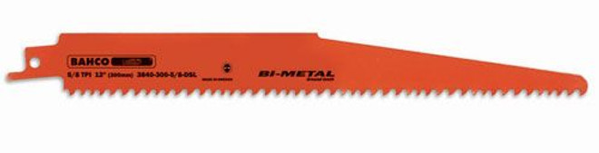"6"" Bahco Demolition/Fire and Rescue Bi-Metal Blades - Industrial Package 10 Pack - 3840-150-5/8-DSL-10P"