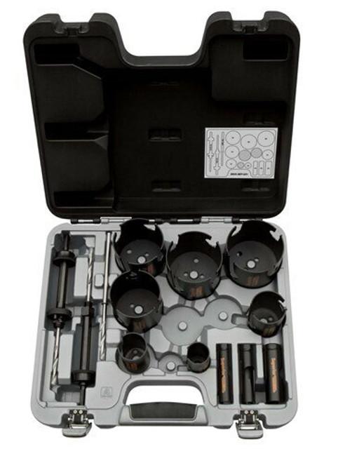 Bahco Superior Holesaw Set 13 Pcs - 3833-SET-201