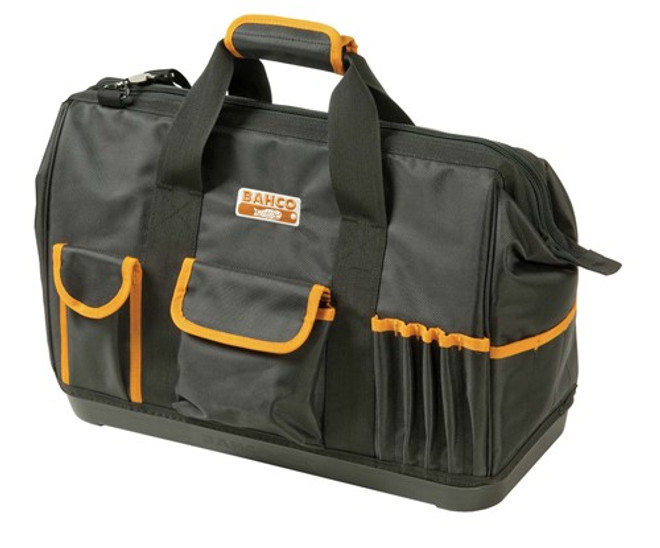 "24"" Bahco Closed Tool Bag with Hard Bottom - 4750FB2-24A"