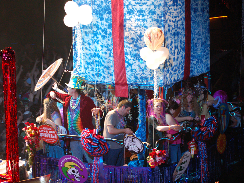 Phil Lesh's 70th Birthday Float