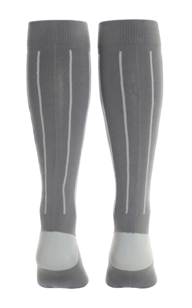 M816GS, Firm Support (20-30mmHg)  Knee High Compression Socks, Back View