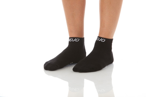 Mojo Compression Socks™ CoolMax Sport Compression Anklets  - Black