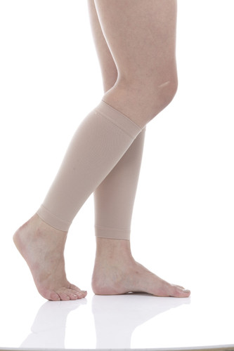 Compression Calf Sleeves X-Firm Support (30-40mmHg) Beige
