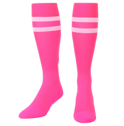 Mojo Compression Socks™ Special Edition - Breast Cancer Ribbon Compression Socks Pink
