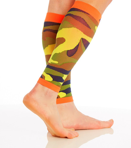 Camo Compression Calf Sleeves