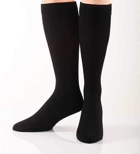 Soft Wool Graduated Compression Socks