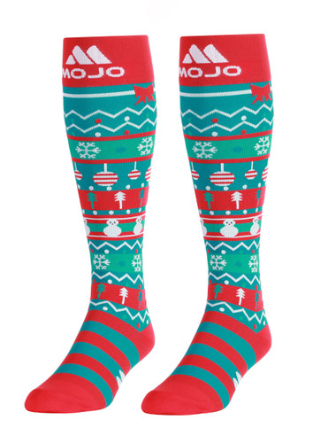 Mojo Compression Socks™ Mojo Special Edition Coolmax Christmas Compression Socks