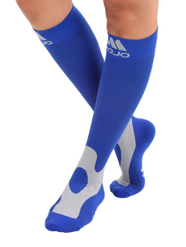 Elite Coolmax Performance & Recovery Compression Socks - Blue