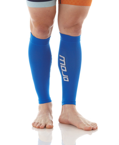Mojo Compression Socks™ Elite Graduated Compression Calf Sleeves - Blue