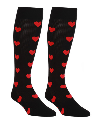 Mojo Compression Socks™ Mojo SweetHearts Black Compression Socks
