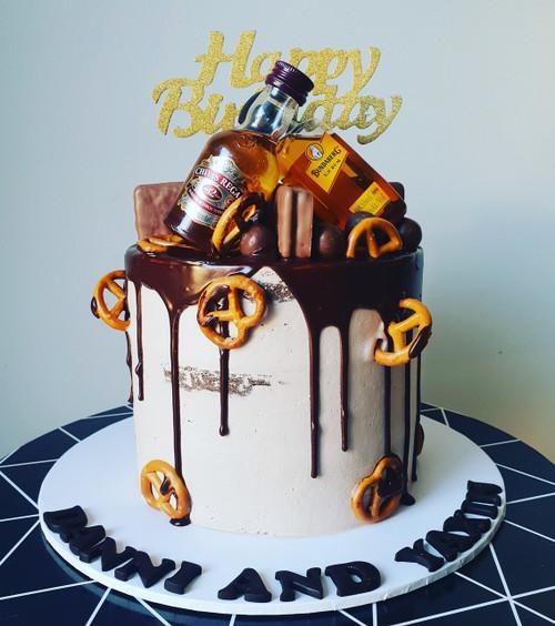 Chocolate Bottle Cake
