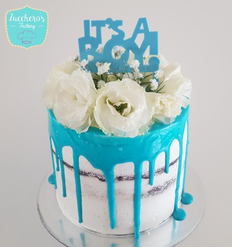 High Quality Baby Shower Cake For Boys